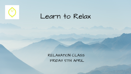 Learn to Relax